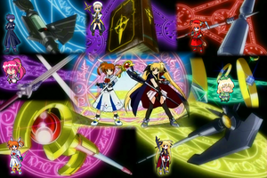 Nanoha Desktop Mark II by GrubLord
