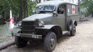 WWII Dodge Ambulance by sfaber95