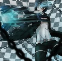 Black rock shooter Kaito by kotorikurama
