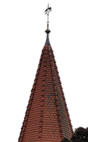 crows on Chruch top cross 02 :: PNG Stock by Selunia
