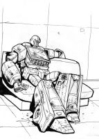 Ironhide: A rough day by Charger426