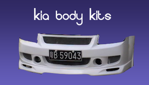 Kia Body Kits by drbest