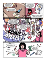 How To Be A Comic Artist by sweet-guts
