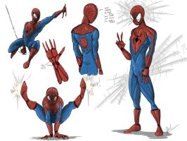 Spidey concept redesign by darknight7