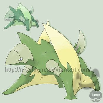 Fakemon Dactyle by mssingno