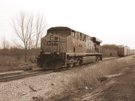 CSX ES44DC 5311 by LDLAWRENCE