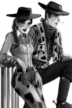 Woody and Jessie by RossoWinch