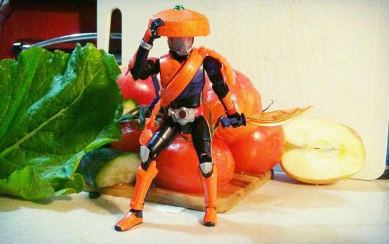 Salad Samurai Racer. by Witchenboy13