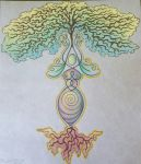 Goddess of the Trees  by Spiralpathdesigns