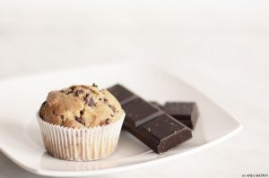 Chocolate chip muffin by CrazyGirL44