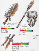 .::Gravios Weapons Set 1::. by Razmakai