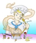 Zell the chef by zoggin-eck