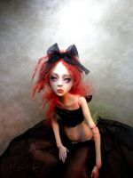 Creepy doll Ball jointed BB by cdlitestudio