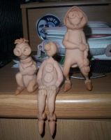 3, 5 and 6 Sculptures by Nariri-Star