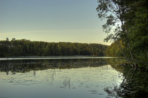 A lake in Kangasala by Karelen