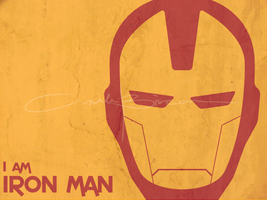 fan art - i am iron man 2 by iAmAneleBiscarra