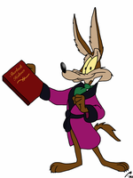 Wile E. as Basil by Calamity-Coyote