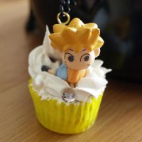 Naruto Cupcake Necklace by AndyGlamasaurus