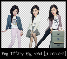 Png Tiffany Big head [3 renders] by lagsiga