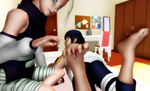 [MMD]  Playing with their toys by SilverStranger