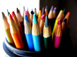 Colored Pencils by penguinsRxcore