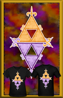 LOZ ALBW Hy Lo Triforces T Shirt by Enlightenup23