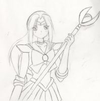 Sailor Mia for Strayberry Sketch by darkened-storm
