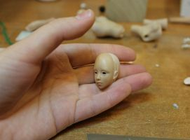 Mini Bjd Prototype 3cm Head by Rosen-Garden
