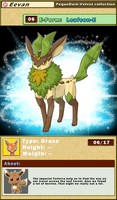 DATA: E-06 .:LEAFEON-E:. by PEQUEDARK-VELVET