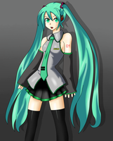 Miku Hatsune by Dark-Shiver