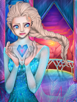 Elsa by LoLLiie