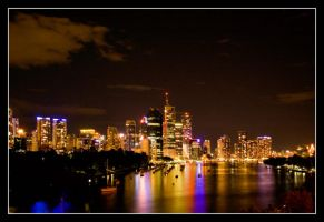 Brisbane By Night V by 2Stupid2Duck