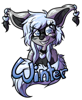 [commission] badge for Winter!! by catastema
