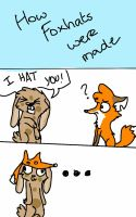 How foxhats were made by WingedSheWolf