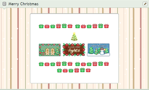 More Christmas Custom box Tile background by Jowrski