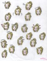 Quistis Reaction Shots by cleris4ever