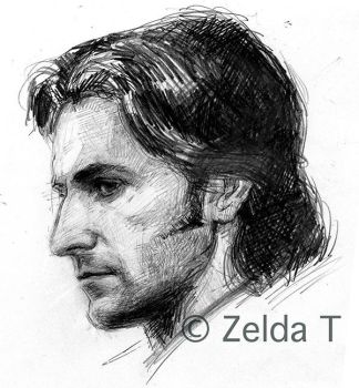 Richard Armitage as Guy by zeldat