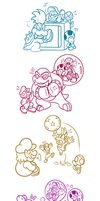 NSMBWii - Fun with Koopalings by JamesmanTheRegenold