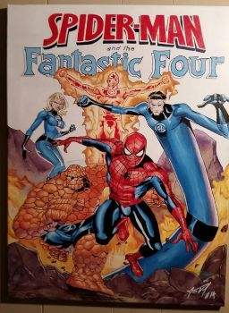 Spider-Man and the Fantastic Four by Gr4phik
