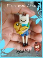 Finn and Jake by Beca1591