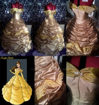 Beauty and the Beast/Belle/Ball Gown by Ellumiel