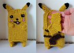 Pokemon DS Cozy- Pikachu by TheSerialKnitter