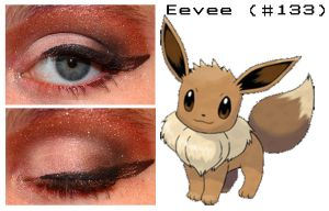 Pokemakeup 133 Eevee by nazzara