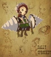 Sally Sprockets by Pechan