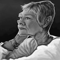 Dame Judi Dench by jonesmac2006