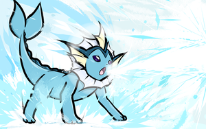Vaporeon | Scald by ishmam