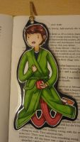 Arthur Dent/Adventure Time Bookmark by EvaHolder