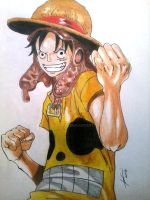 Luffy Casual Wear. by Adamichi