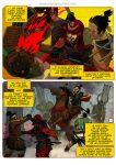 Ronin Blood, issue3, page 1 by burningflag