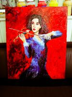 Violin lady1 by NilleMusic